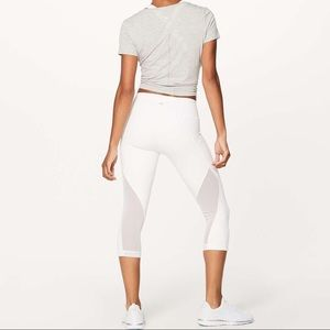 Lululemon Sweat Your Heart Out Crops Leggings